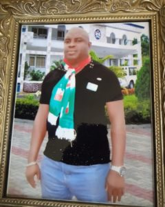 A tragic incident occurred in Port Harcourt, Rivers State Capital as a Nigerian man identified simply as Daniel