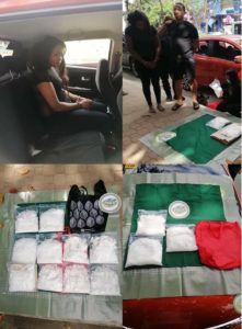 Joint Philippine Drug Enforcement Agency (PDEA) and Philippine National Police operatives seized around 10kilograms