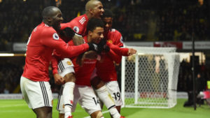 Manchester United Manchester United Watford Epl Manchester United kept alive their hopes of finishing in the English Premier League