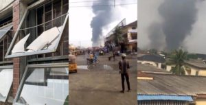 Confusion and anguish are currently rocking some communities in Lagos state after residents, on Sunday, March 15, woke up