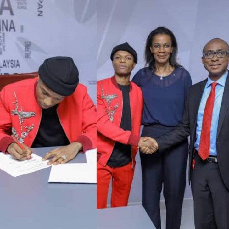 Photo of OMG! Wizkid Was Paid N1billion For Endorsement Deal By UBA