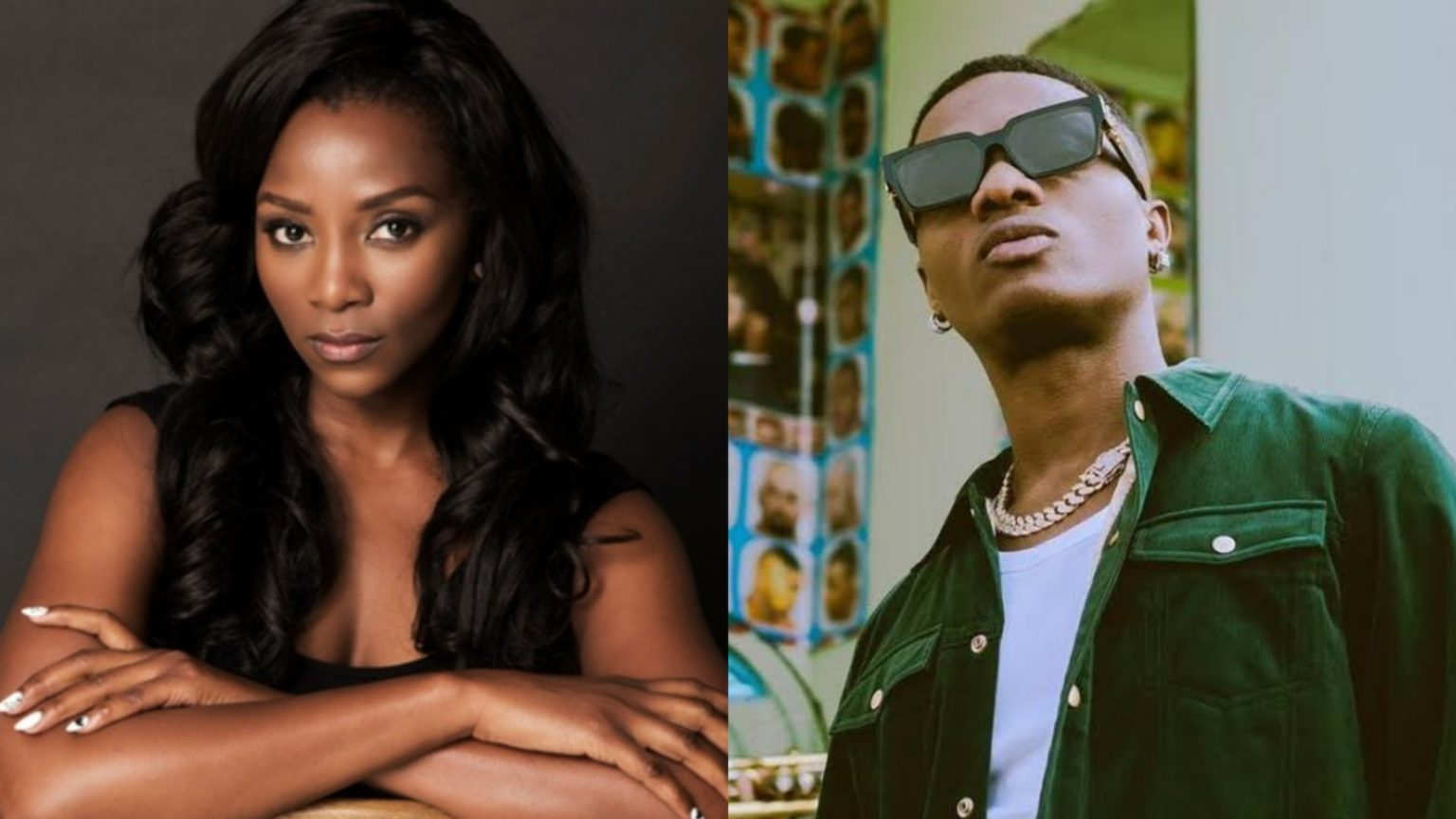 Photo of Genevieve and Wizkid spotted flirting On Instagram (Photo)