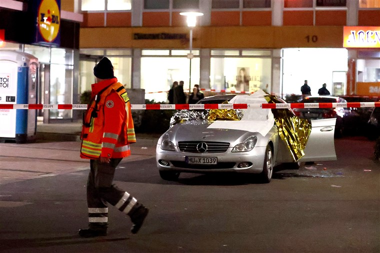 Photo of OMG! 8 people dead in shootings in German city of Hanau, police report