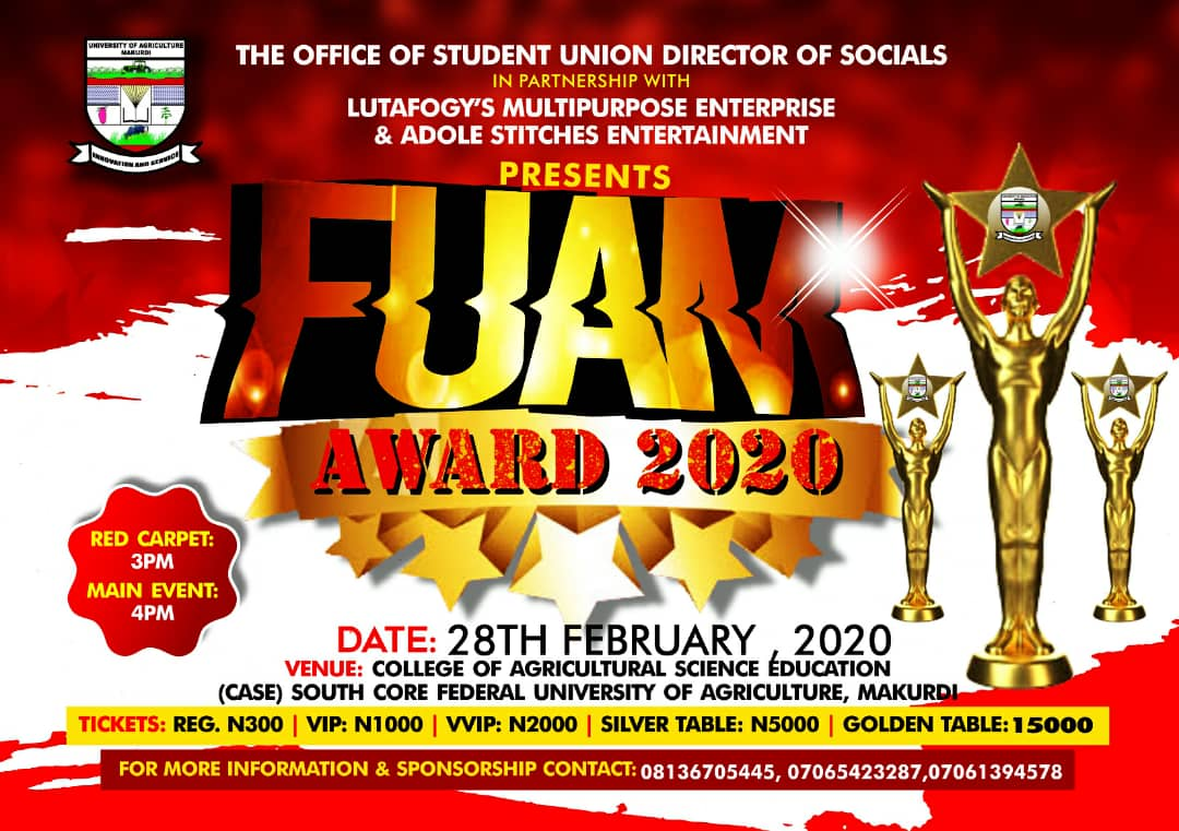 Photo of VOTE FUAM AWARD 2020