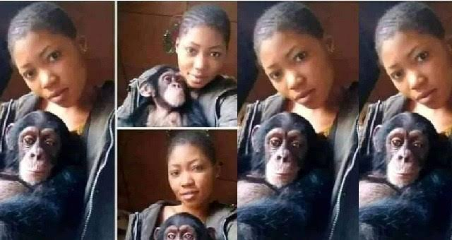 Photo of My monkey is better than any man,he satifies me in bed – Nigerian lady says