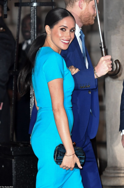 Photo of BREAKING! Meghan Markle makes her first public appearance in Britain since she and Prince Harry announced they were stepping back from their roles as 'senior royals' (photos)