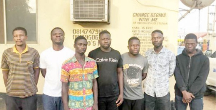 Photo of OMG! 7 Ghanaians arrested in Lagos for drug trafficking