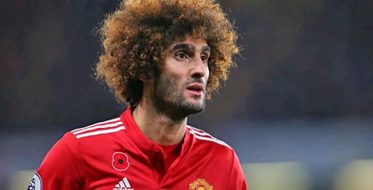 Photo of BREAKING: Former Manchester United star, Marouane Fellaini hospitalized after testing positive to Coronavirus