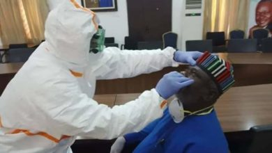 Photo of Benue Governor, Samuel Ortom and others test negative to Coronavirus