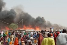 Photo of 14 Persons Confirmed Dead As Fire Raze Down IDP Camp In Borno State