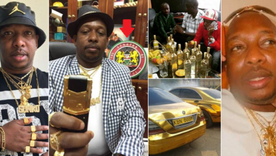 Photo of Meet the Billionaire Governor who drives only gold cars, uses 24-Karat gold phones, jewelries and only drinks gold wine (photos)