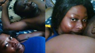 Photo of OMG! Lady exposes married man, shares after s3x photos
